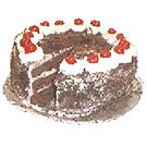 1 kgm Black Forest Eggless Cake