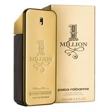 1 Million By Paco Rabanne. Size-50ml. Shipping-Within 4-5 Working Days.
