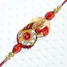 Rakhi-15. This Product Needs To Be Accompanied With Flowers. Please Note That The Color And Design May Vary According To The Availability.