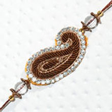 Rakhi-17. This Product Needs To Be Accompanied With Flowers. Please Note That The Color And Design May Vary According To The Availability.